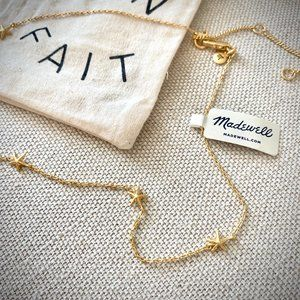 NWT Madewell Delicate Starfish Chain Necklace